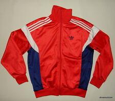 Vintage 70s Adidas Tracksuit Top Jacket / Rare / Shiny Retro / Made in England