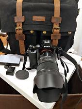 Sony A7R w/ Sigma 50mm 1.4 ART Series Bundle w/ 128GB + Battery Grip + Pro Bag ⚡