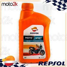1L Aceite Motor Repsol Manillar Sintético Moto Sport 15W50 1 Litro 4T 4 Tiempos