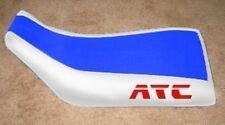 Honda ATC 250SX Blue White Logo Seat Cover #hcs352c345