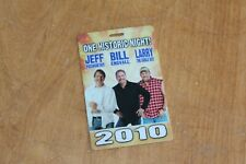 Jeff Foxworthy Bill Engvall Larry The Cable Guy  Backstage Pass - FREE SHIPPING