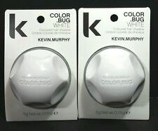 2 White Kevin Murphy Color Bug Temporary Hair Dye Shadow Chalk  Stocking Stuffer