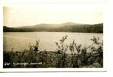 Scenic Body of Water by Wilmington-Vermont-RPPC-Real Photo Vintage Postcard