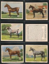 Player, TYPES OF HORSES, Near Full Set L21/25, Very Good/Excellent, 1939
