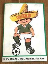 Album figurine MEXICO 70 COMPLETE wc wm sticker 82 1970 74 78 copa oro no panini