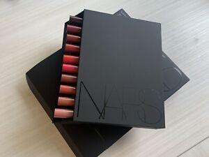 NARS Insatiable Velvet Matte Lip Pencil Vault 10 Pencils NIB Dolce Vita