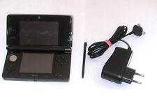 ORIGINAL Nintendo 3DS KONSOLE - SCHWARZ * mit Ladekabel *gebraucht*