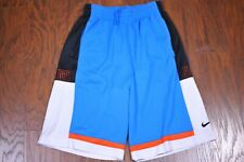 Nike Dri-Fit Elite Basketball Shorts Blue Men's Medium M