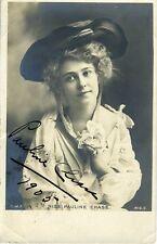 Pauline CHASE (Actress, PETER PAN): Signed Photograph Postcard