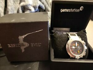 Resident Evil 5 Biohazard Capcom Wristwatch Rare Limited Edition 267/555