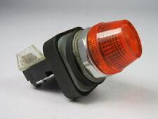 Allen-Bradley 800T-QH10A Universal LED Pilot Light 120V Amber Lens ! WOW !