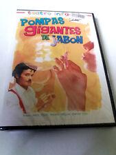 """DVD """"TEATRO INFANTIL POMPAS GIGANTES DE JABON"""" PRECINTADO SEALED ANGEL MIGUEL NA"""