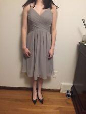 Azazie bridesmaid dress Grey Color Size XS