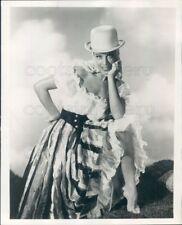 1957 Press Photo Opera Singer Patrice Munsel as La Perichole