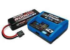 Traxxas Maxx Power 4S Lipo Power With iD 5000Mah Combo Battery Charger Pack