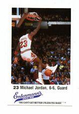 MICHAEL JORDAN 1988  Entenmann's  In Hoop Blank Back BULLS TEAM SET HIGH GRADE