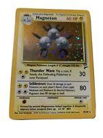 Magneton Holo Rare Pokemon Card - 9/130 Base Set 2 - Nm