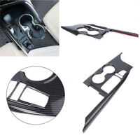 1pc ABS Carbon Fiber Inner Gear Shift Box Panel Cover Trim For Toyota Camry 2018