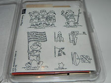 Stampin Up Scouts at Play Boy Scouts Stamp Set NEW UM