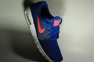 Nike STEFAN JANOSKI MAX Skateboarding Blue Men's Shoes US 9