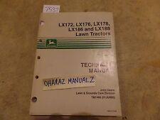 John Deere LX172 LX178 LX186 LX188 Lawn Tractor Technical Manual TM1492