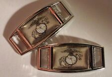Set Of 2 United States Marine Corps SEMPER FI Shoelace Charms For Paracord Jobs
