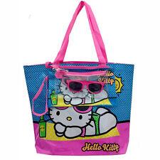 6in1 Hello Kitty Travel Set Beach Tote Bag + Sunglasses + Beach Ball + BONUS
