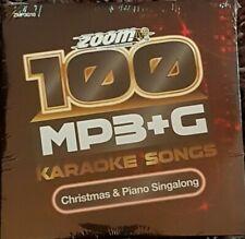 Zoom Karaoke 100 MP3+G Tracks Vol 10 - Christmas & Piano Singalong PC DVD-ROM