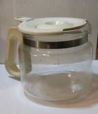 NORELCO RP14W 10 Cup Automatic Coffee Maker LID And HANDLE ONLY