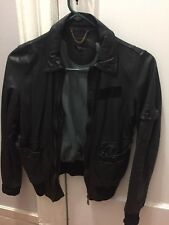 Sisii Leather jacket (Calypso)  All Saints Style Motorcycle jacket XS