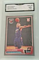 2015-16 Devin Booker Complete Silver #296 Suns RC Rookie GMA 10 Gem Mint
