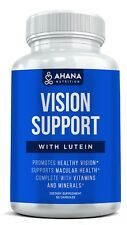 Vision Support Supplement - Supports Eye Health With Natural Ingredients