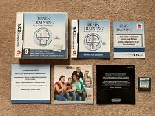 Brain Training - Nintendo DS Complete 100% Genuine (A)