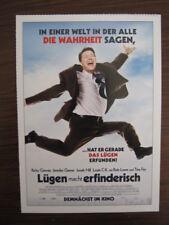 Filmplakatkarte / moviepostercard  Lügen macht erfinderisch  Ricky Gervais