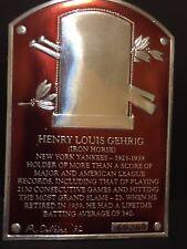 LOU GEHRIG 1993 Legendary Foils Baseball PROOF / ERROR Missing Picture & Gold SP
