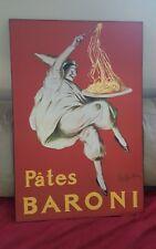 """Pates Baroni Cappiello Vintage Ad Art Plak-it Decor - 24"""" x 36"""""""