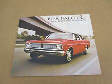 1968 Ford Falcon Futura club coupe wagon sedan sales brochure dealer catalog