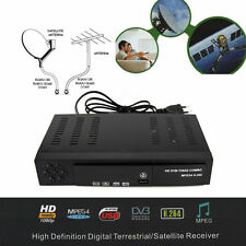Digital Satellite TV Receiver Combo DVB T2 + S2 FTA HD 1080P DVB T2 TV BOX H.264