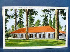 Postcard CA Pine Knot Big Bear Lake Lagonita Lodge