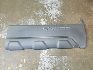 Chevy OEM 2003-2006 Avalanche Gray Right Front RH Door Molding Cladding 93440188