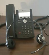 Polycom IP335 Phone 2 Lines VOIP Office Telephone Corded with headset