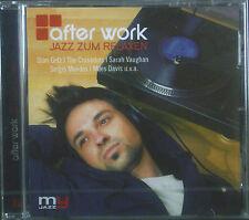 CD after work-jazz pour se relaxer, stan Getz, posée, var. Artists, Neuf-Emballage d'origine