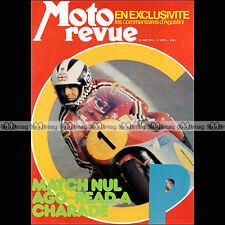 MOTO REVUE N°2170 MINARELLI 50 GP ZUNDAPP MC 125 GRAND PRIX FRANCE CHARADE 1974
