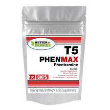 100 PHENMAX T5 PHENTRAMINE RX STRONG DIET WEIGHT LOSS SLIMMING PILLS FAT BURNERS