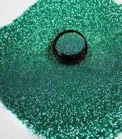 3ml Glitter 0,2mm, helles Petrol, Glitterstaub, Puder in Zip Tüte, Nr. 801-005-b