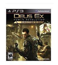***FASTFEE SHIP** BRAND NEW PS3 GAME DEUS EX HUMAN REVOLUTION: DIRECTOR'S CUT