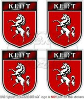 KENT County Schild ENGLAND UK Vinyl Sticker Aufkleber 50mm x4