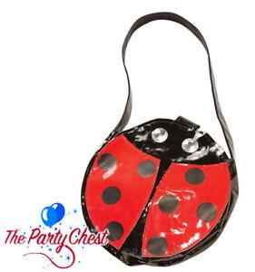 LADIES LADYBIRD HANDBAG Cute Ladybug Summer Party Fancy Dress Accessory 8836