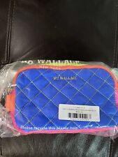 MZ Wallace Sam Cosmetic Neon patchwork New In Poly Bag Never Opened