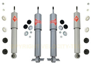 Pair Set of 2 Rear Gas-a-just KYB Shock Absorbers for Chevrolet Corvette 88-96